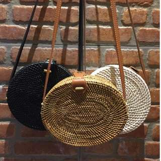 Rattan Bags from Bali 1,500 only ready to ship!