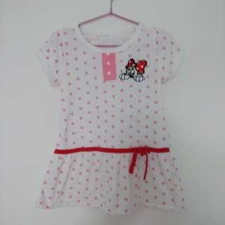米妮女童洋裝