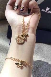 Authentic! Swarovski Bracelet 水晶手鏈蜜蜂