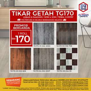 New Launched Tikar Getah Flooring that perfectly complement your personal style!!