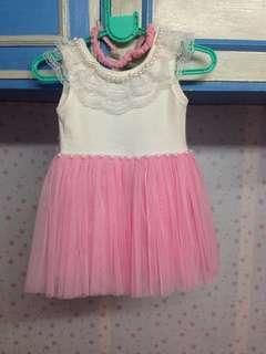 Pre-loved Baby Girl Dress 3-6 months