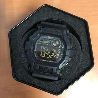 Jam tangan G-Shock GD-350-1BDR Black Casio