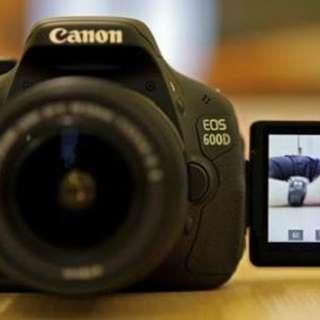 camera Canon 600D bisa di cicil tanpa kqrtu credit