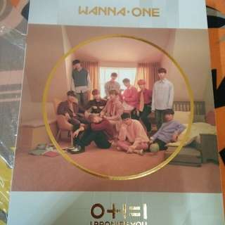 Unsealed album Wanna One IPU (Day Ver)