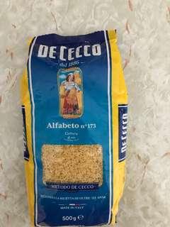 DECECCO Alfabeto no. 173, ABC 字母粉,2020.10.19到期, 原價$25.9
