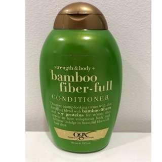 OGX Strength & Body Bamboo Fiber-full conditioner 385ml (13fl. oz.)