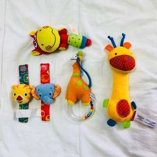 Baby Rattles and Teether