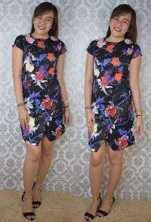 Classy Floral Dress SHN