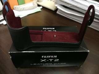 Fujifilm XT-2 Black Leather Case