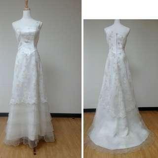 白色禮服-婚紗-類婚紗-白紗