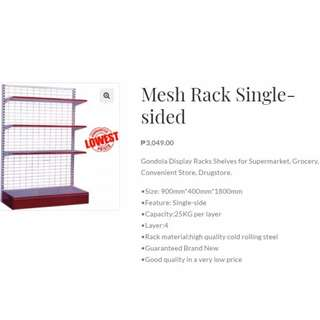 Mesh Rack Single Sided