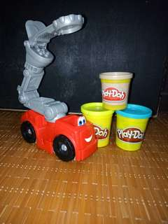 Play Doh truck