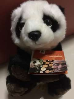 Brand New Authentic WWF Collections 2008 Panda Plush Toy