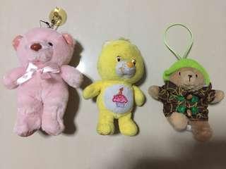 Care Bears / Paddington Bear Plush Toy