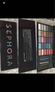 Sephora Eye Shadow Package