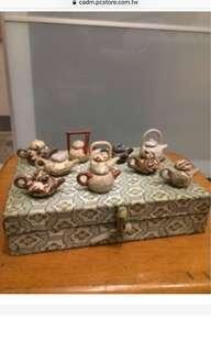 🚚 十件組擺飾茶壺