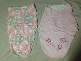 Swaddle wrap 2 sets for Baby Girl
