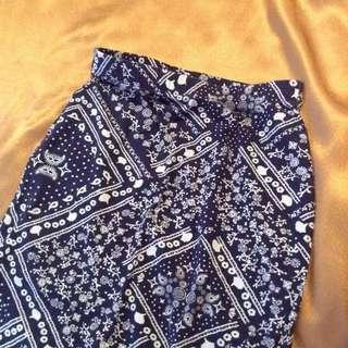 H&M DIVIDED Midi Pencil Skirt