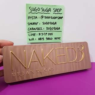 URBAN DECAY Naked 3 Eyeshadow Palette (12×1.3g)