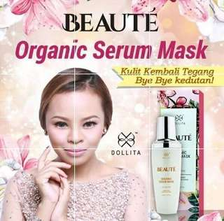 INSTOCK Dollita Beaute Serum Mask