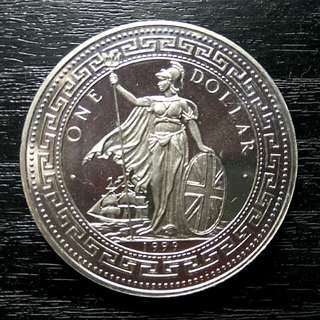 1999 Trade Dollar - Nickel Silver Medallion