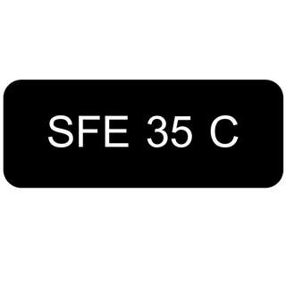 Car Number Plate for Sale: SFE 35 C
