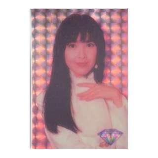 VVN-022-DDC45,DAIMOND CARD,閃卡,周慧敏,背面曲詞-多一點,多一遍