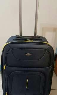 Samsonite 新秀麗藍黃配色行李箱