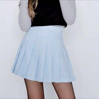 mixxmix | Light Blue Tennis Skirt