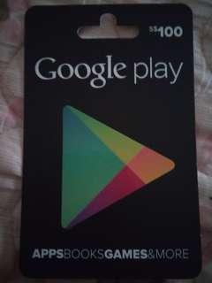 Google Play $100 Gift Card