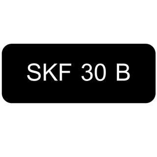 Car Number Plate for Sale: SKF 30 B