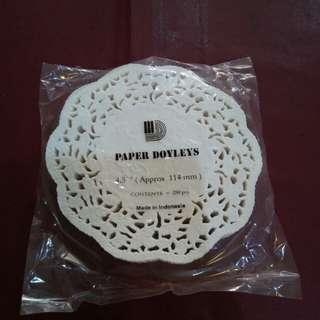 Paper doyleys 4.5 inci