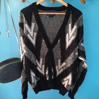Chunky knit cardigan