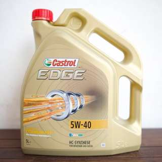 Car Engine Oil Servicing (Castrol Edge Advanced Fully Synthetic)- COMPLIMENTARY CAR WASH