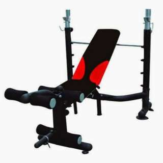 Bench Press Jaco Alat Fitness Angkat Beban Latihan Dada TL 408 Bench gym Murah