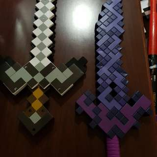 Mine craft sword