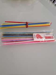 Pick up sticks to bless / give away