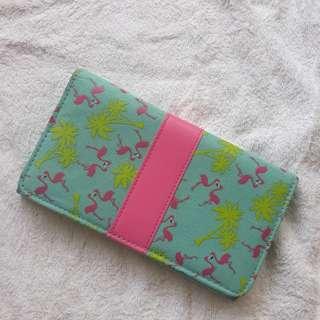 Long wallet flamingo