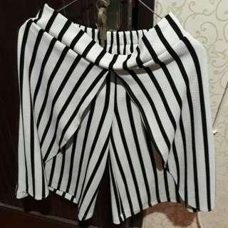 Cullote Stripe Pants