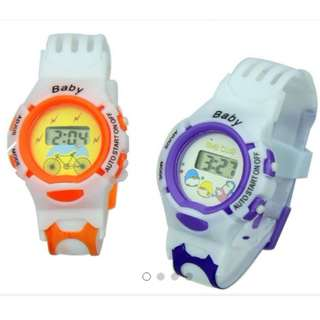 Children Kids Trendy Sport Watch (Birthday Gift Goodies Bag)