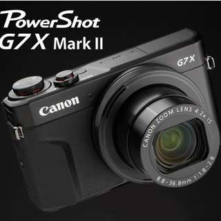 [Limited Sales] Canon G7X Mark II