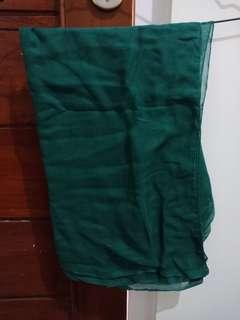 Jilbab paris green