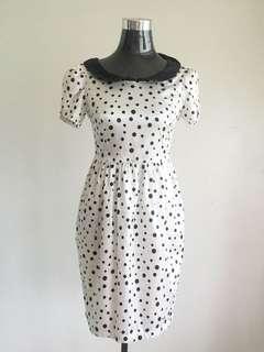 Retro Polka Dress