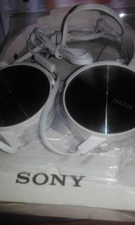 Headset sony X bass MDR