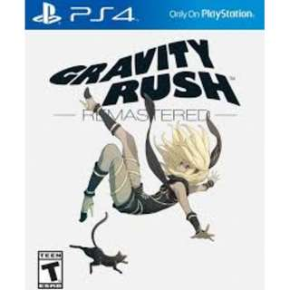 PS4 GRAVITY RUSH REMASTERED