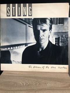 Vinyl / Piringan Hitam Sting - The Dream Of The Blue Turtle