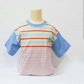 Doraemon Bordir Stripes top