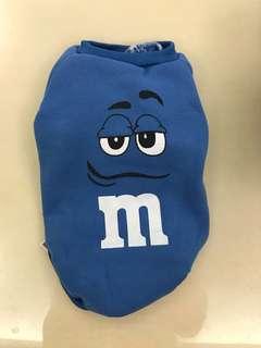 🚚 mm巧克力 藍色造型狗狗衣服