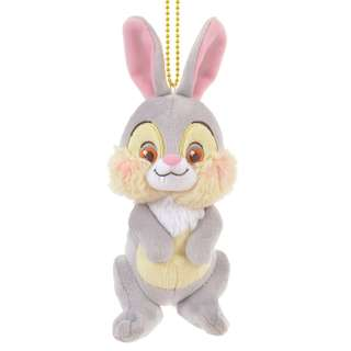 Japan Disneystore Disney Store Thumper Chill Keychain with Stuffed Plush Doll Toy