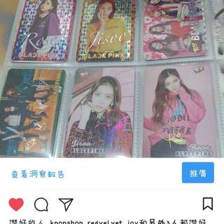 Yescard Blackpink
